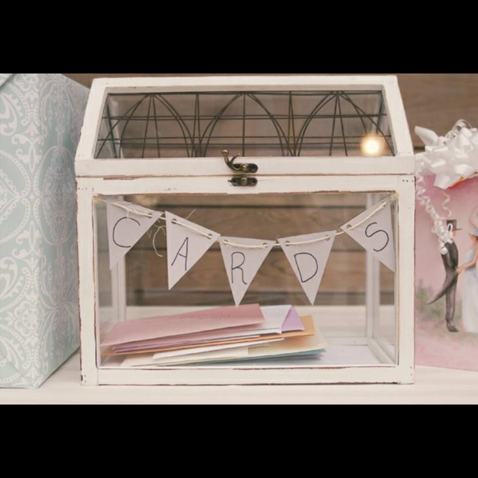Dooskistje voor enveloppen  Card box ideas  Pinterest  Wedding