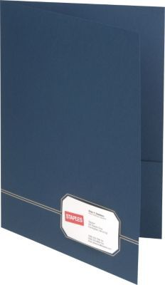 Esselte oxford design monogram 2 pocket folders bluegold 4pack cut business card slot into front of folders colourmoves