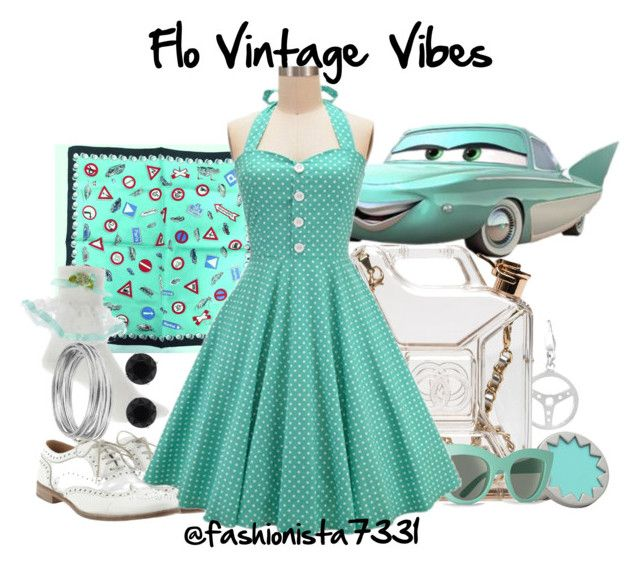 """Flo Vintage Vibes"" by fashionista7331 ❤ liked on Polyvore featuring Worthington, GAS Jeans, House of Harlow 1960, Billabong, Anne Klein, Church's and vintage"