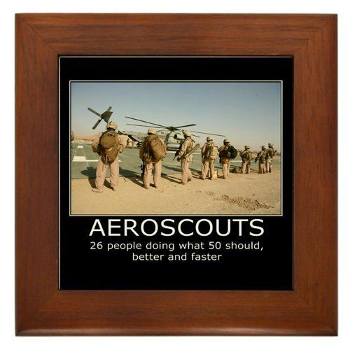 3 7 Wpns Scout Sniper Framed Tile By Cafepress By