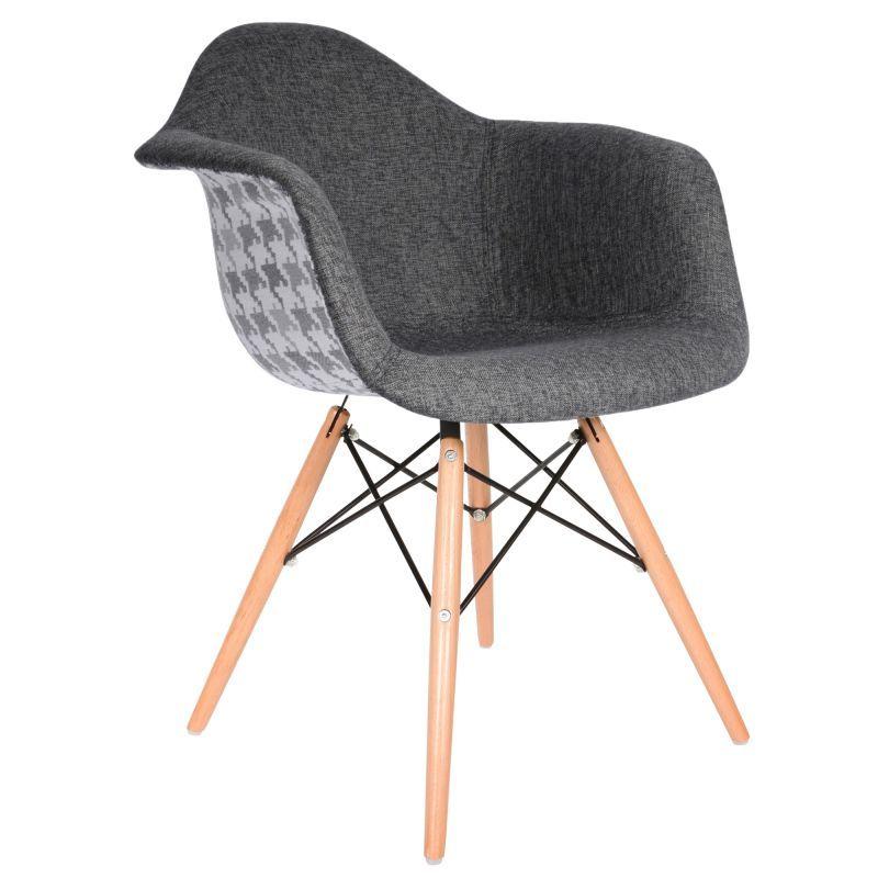 Sedia Patchwork Grigio Scuro | Patchwork | Chair, Eames daw ...