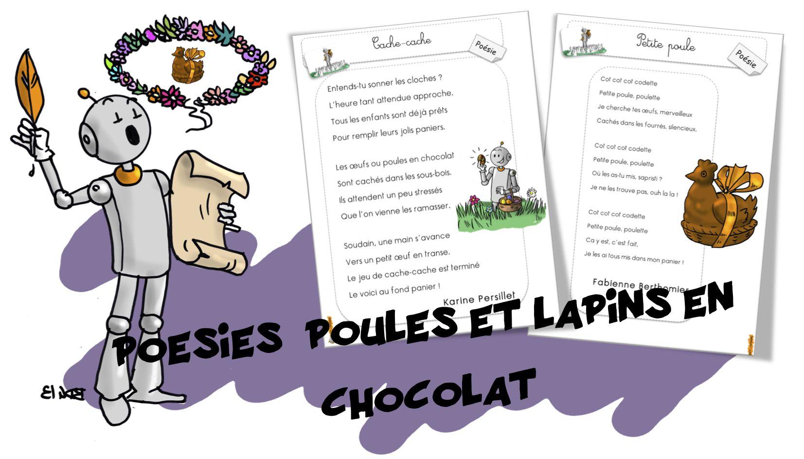 Poésies Pour Les Gourmands Poésie Lapin En Chocolat