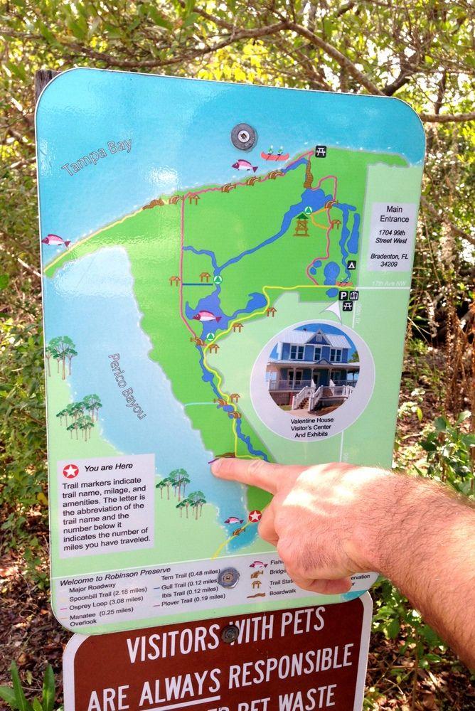 Robinson Preserve Map Robinson Preserve    Anna Maria Island | Fl | Anna maria island  Robinson Preserve Map