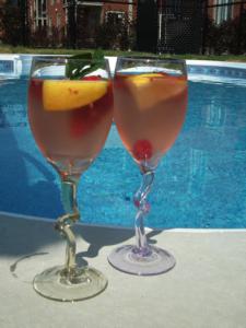 Cocktail d'été « Vins d'Alsace