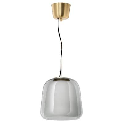 EVEDAL Pendant lamp, gray IKEA in 2020   Pendant lamp