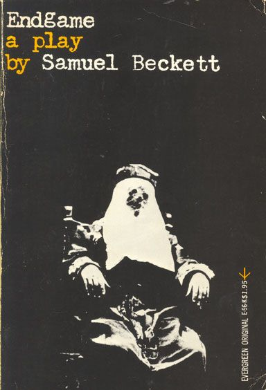 Endgame by Samuel Beckett. Grove Press, 1958. Softcover. Evergreen E-96. Cover by Roy Kuhlman. www.roykuhlman.com