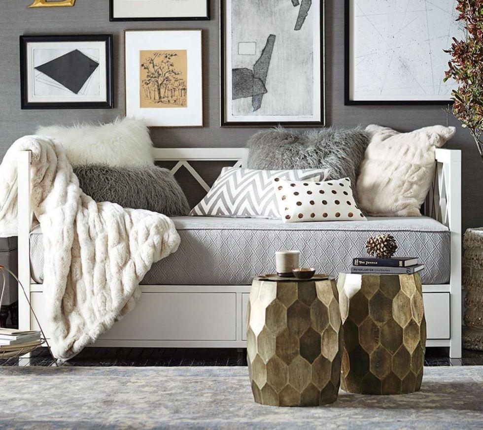 Small apartment furniture. Clara Lattice Storage Daybed