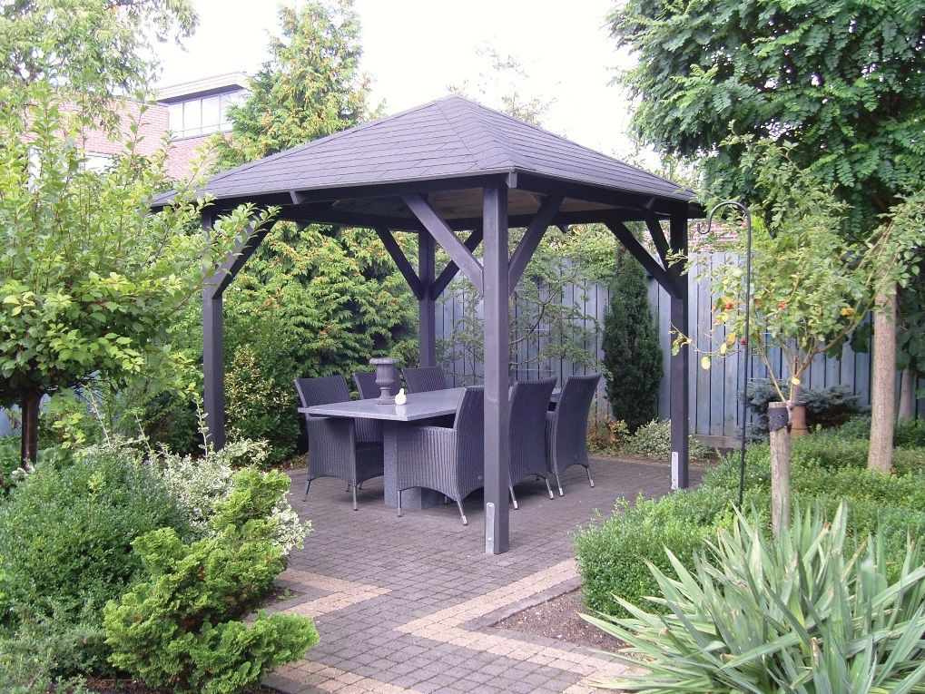 17 Best ideas about Wooden Garden Gazebo on Pinterest Pallet