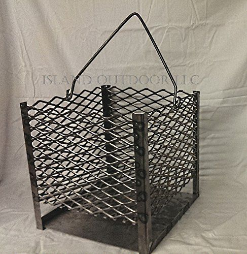 LavaLock (tm) UDS 55 Gallon charcoal firebox basket for Ugly Durm