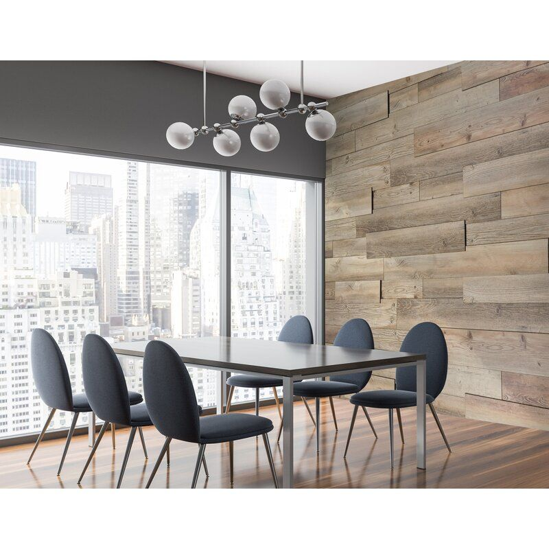 """Rendition 6.5"""" W x 47"""" L Peel and Stick Laminate Wall"""