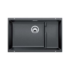Blanco Precis 18.125-In X 28.75-In Anthracite Single-Basin Granite Undermount Residential Kitchen Sink 519450
