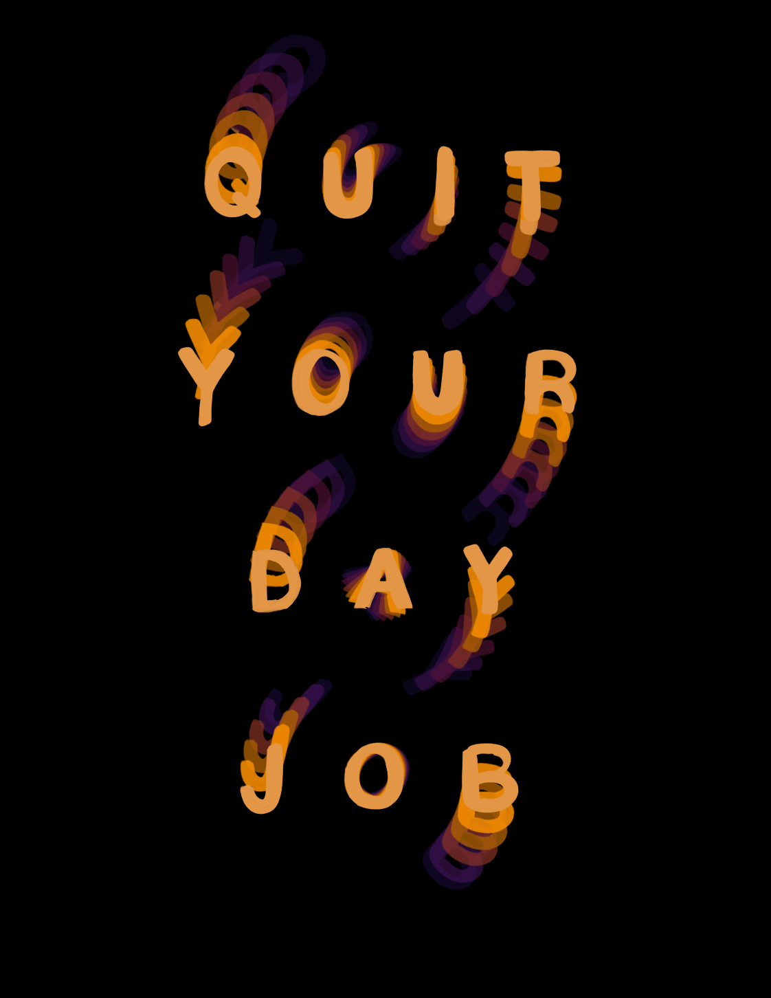NEW Quit Your Day Job Print in 2020 Prints, Print, Etsy