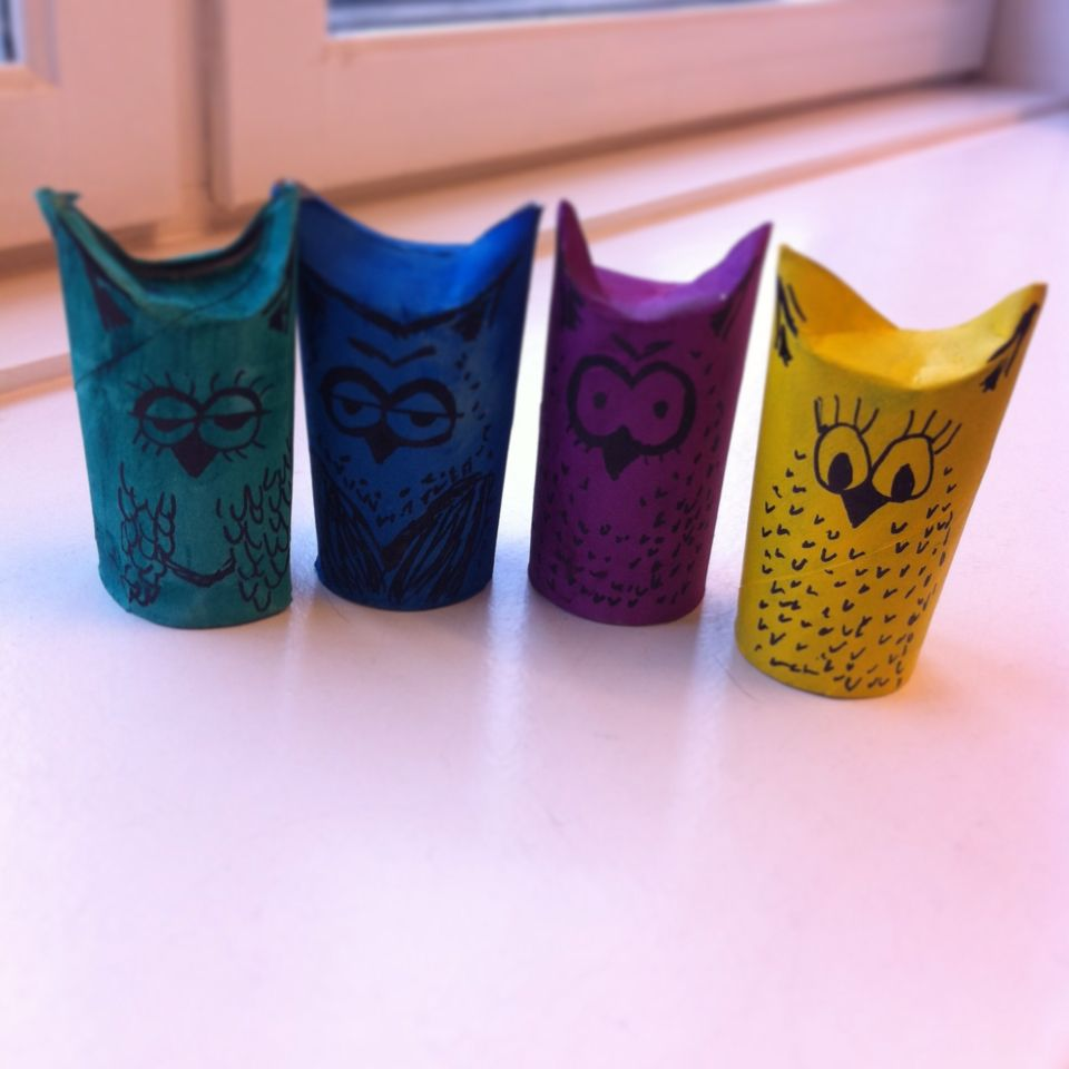 Search for TP owls and u get a ton of inspiration. Originally i got the idea from RecycleArt.org - good fun :-)