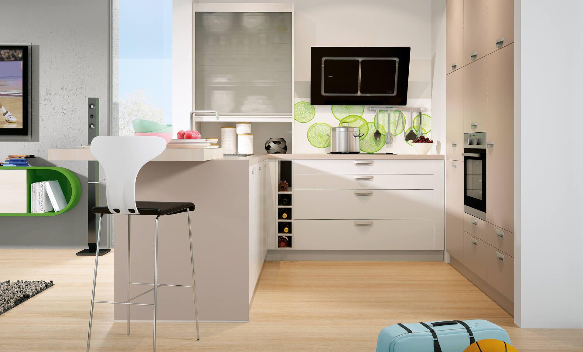 8 Tipps für kleine Küchen Kleine küche, Couchtisch