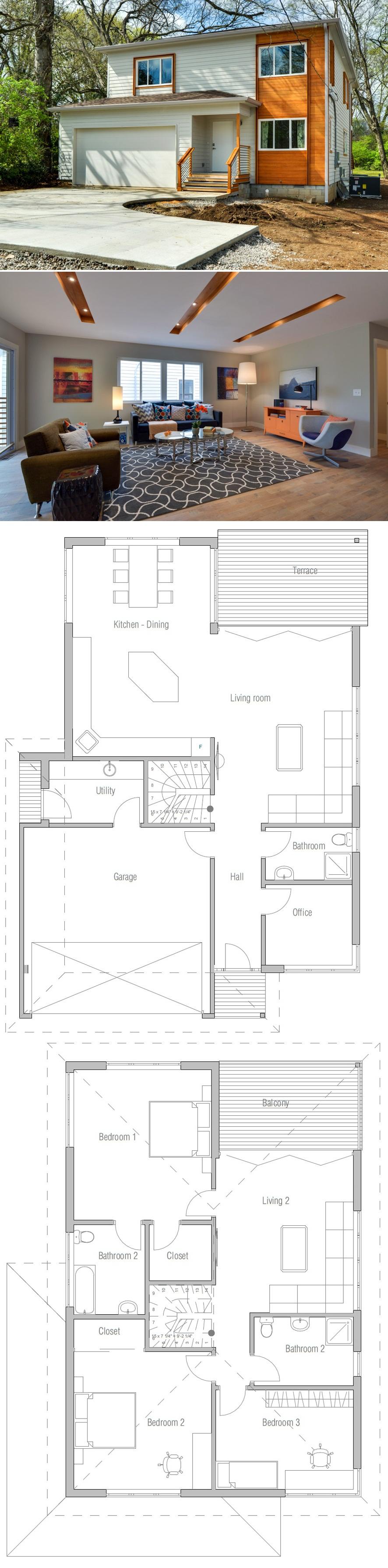 Grundrisse moderne häuser kleine häuser kleines haus pläne doppelhaus sims home pläne haus design grundrisse