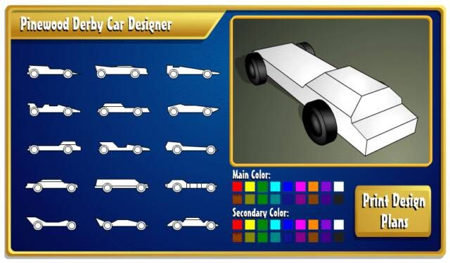 boy scout derby car templates - need ideas on designs for your pinewood derby car kinda