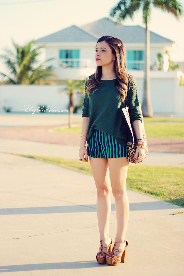 Blog da Lê-Moda Acessível: Total Green