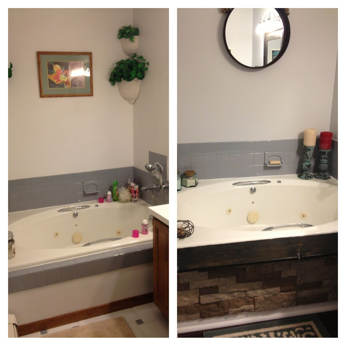 Before And After Using Air Stone On The Tub Added The
