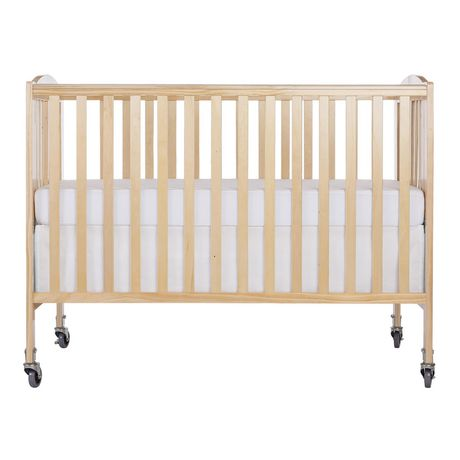 Dream On Me Folding Full-Size Convenience Crib Natural ...