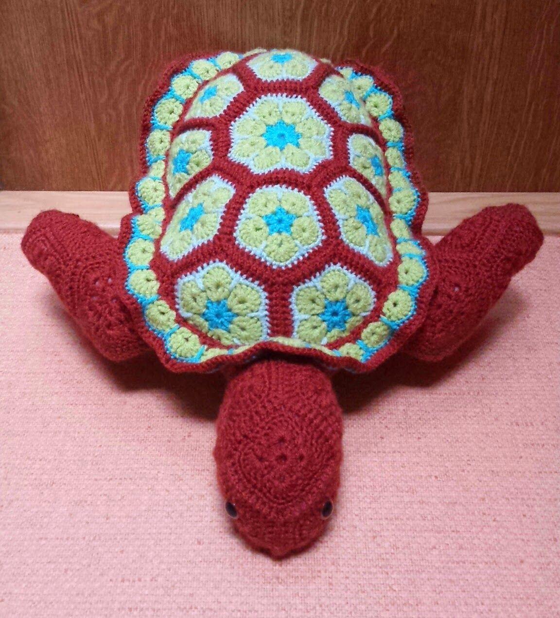 http://creatiesvancreathea.blogspot.com/ | Flor Africana Crochet ...