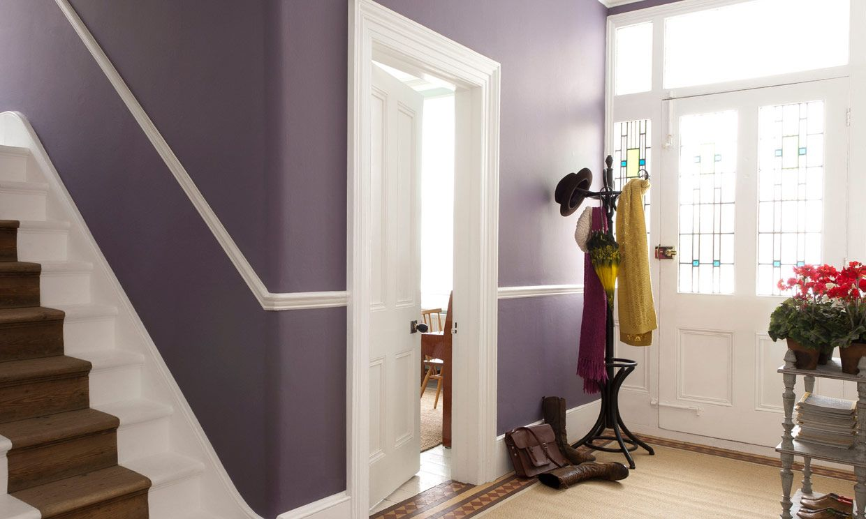 Emplea La Pintura De Las Paredes Para Conseguir Una Casa M S  ~ Colores Pintar Pasillo Y Entrada