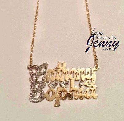 Necklaces Name Plates Men Women Jewelry Lovejewelrybyjenny Diamond Cross Pendants Diamond Cross Necklaces Diamond Evil Eye
