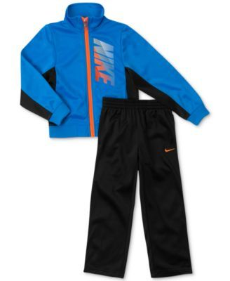 Nike Little Boys' 2-Piece Tricot Warm-Up Jacket & Pants