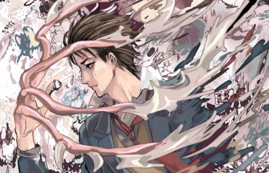 Shinichi Izumi + Migi ~by Shumijin