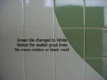 You Make Your Old Tile Look Brand New And Never Worry About The Grout Again!
