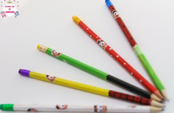 DIY Como fazer lápis personalizados da Turma da Mônica.  #clubedaaninha #anapink #diy #kids #artesanato #crianças #turmadamonica