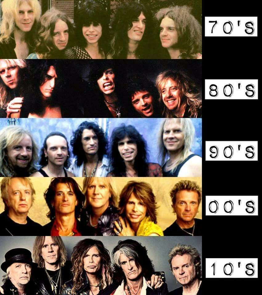 Aerosmith Wow The Difference Is Not How They Age But Their