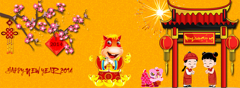 Happy Vietnamese New Year 2014 Zootemplate Happy Vietnamese New Year New Year 2014 Year Of The Horse