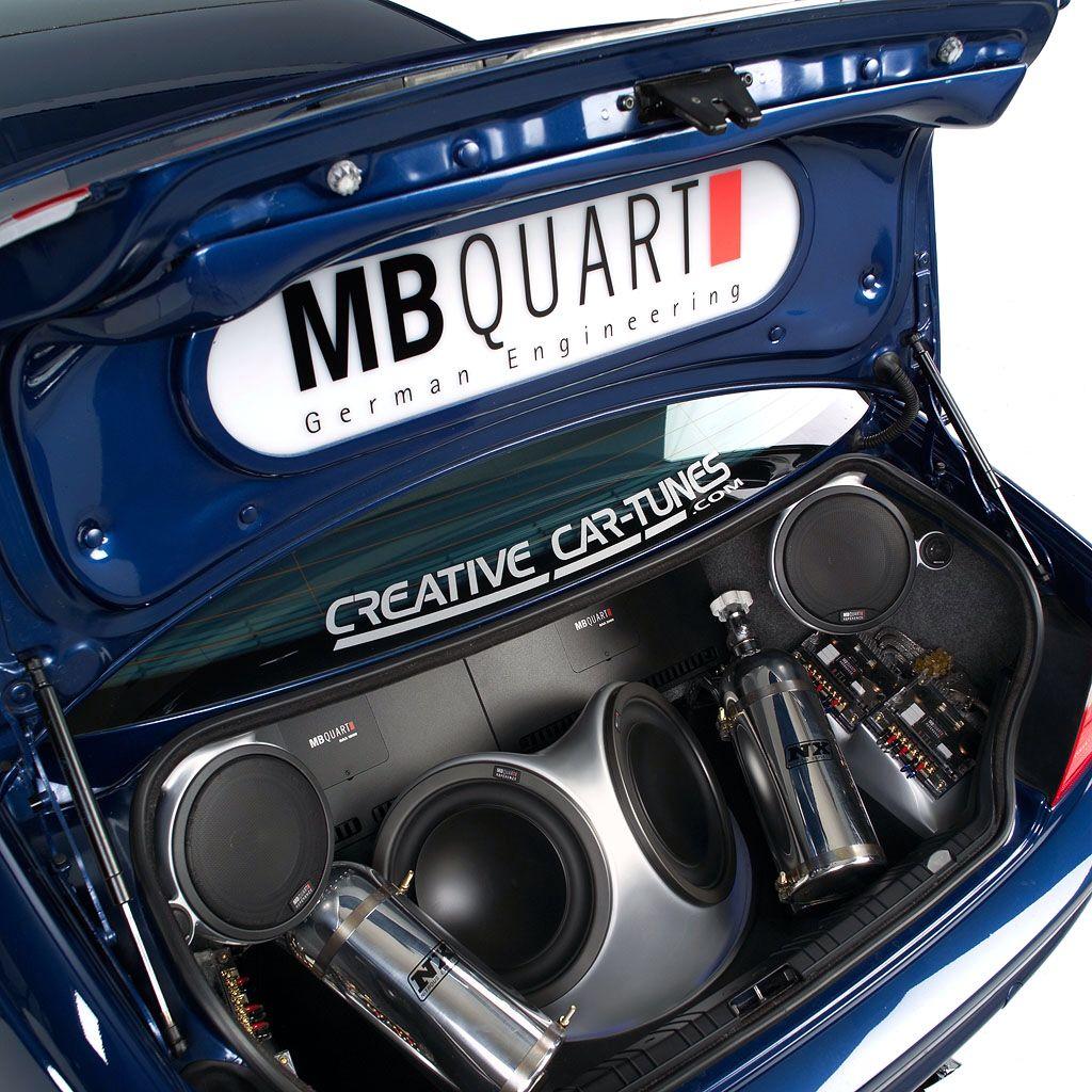 2002 Fox Marketing Cars BMW M3 Custom MB Quart Trunk