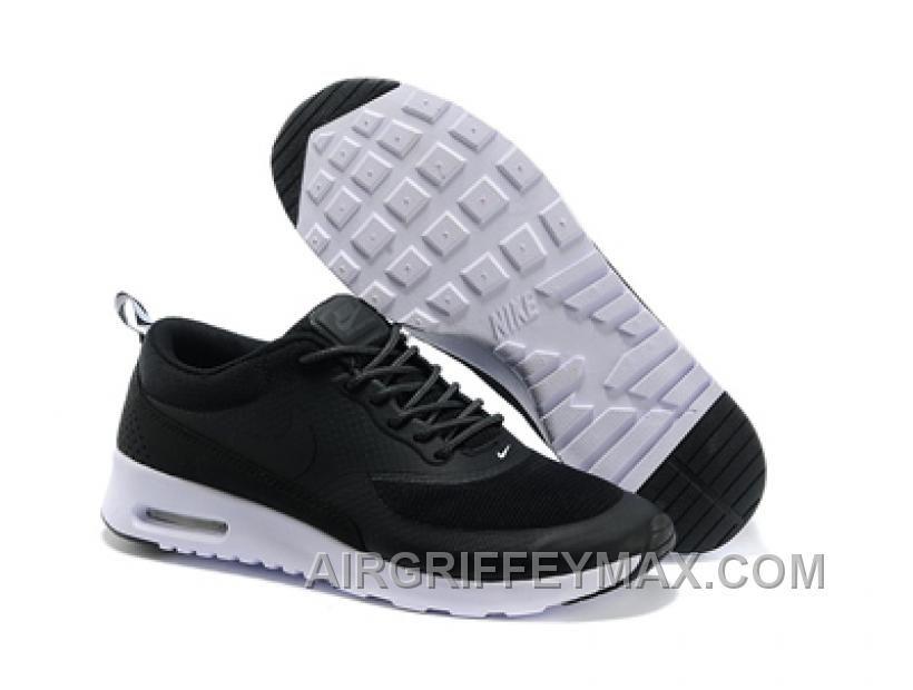 Mens Nike Air Max Thea Print Black Shoe Free Shipping