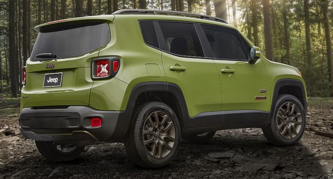 Detroit Jeep Celebrates 75th Birthday With Limited Edition Models Jeep Renegade Jeep Renegade Trailhawk Compare Cars