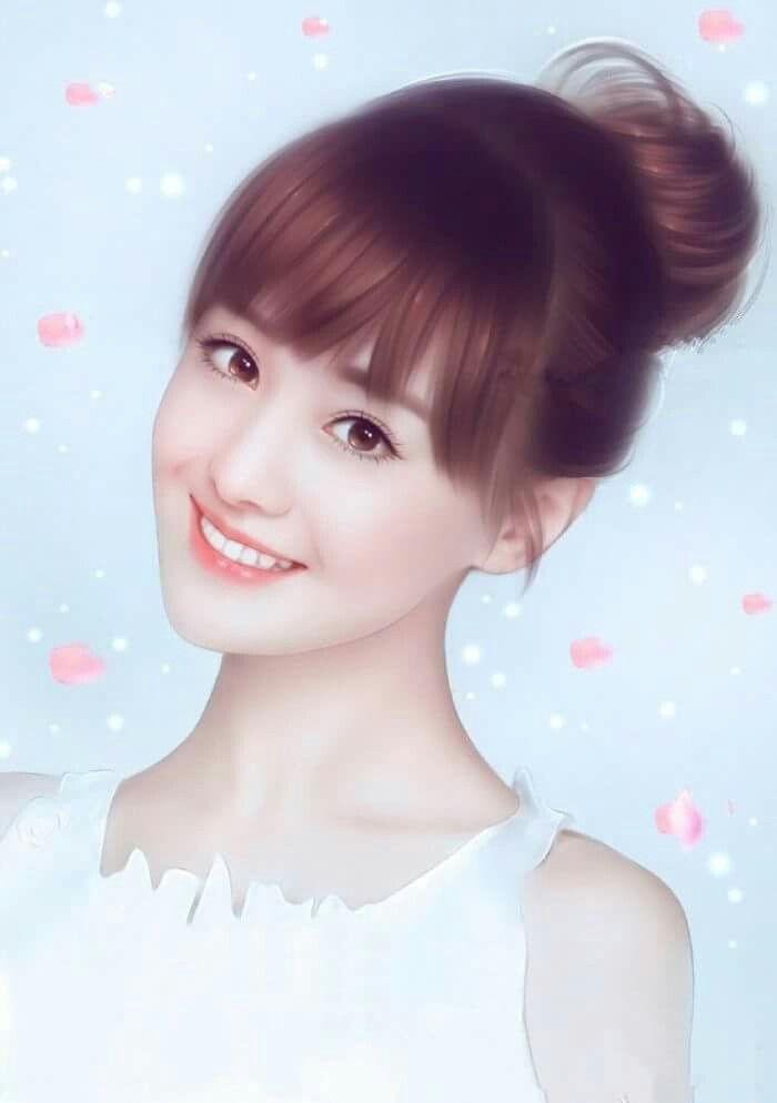 Zheng Soung Chinese Art Girl Anime Art Girl Digital Art Girl