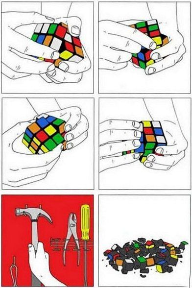 How I Like to Solve a Rubiks Cube Solving a rubix cube