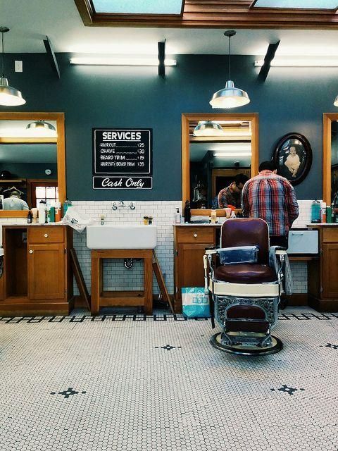 Barber shop | Flickr - Photo Sharing!: | Déco salon homme ...