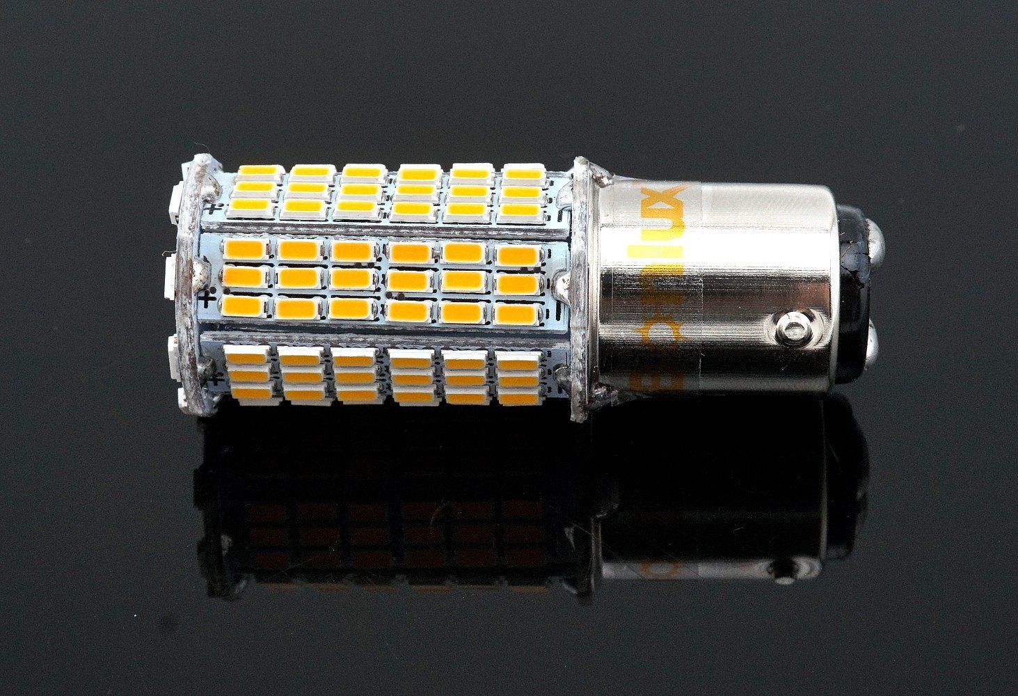 Amazon Com Bonlux 5w Led 1157 Ba15d Double Contact Bayonet Bulb Ac Dc10 30v Warm White Double Connector Parallel Pin 1076 1130 1176 11 Warm White Bulb Bayonet