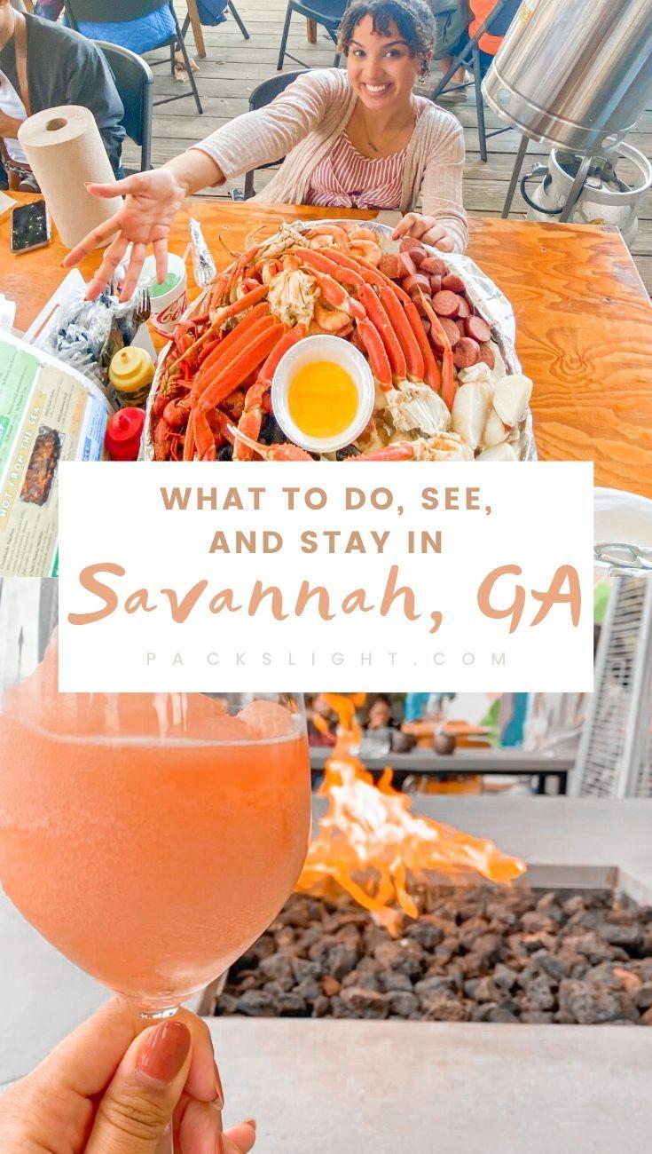 3-Day weekend in Savannah, GA? See where you should stay, what you should do, where you should drink, and a few more travel tips right here. #SavannahGA #USATravel #NorthAmerica #Georgia #Savannah