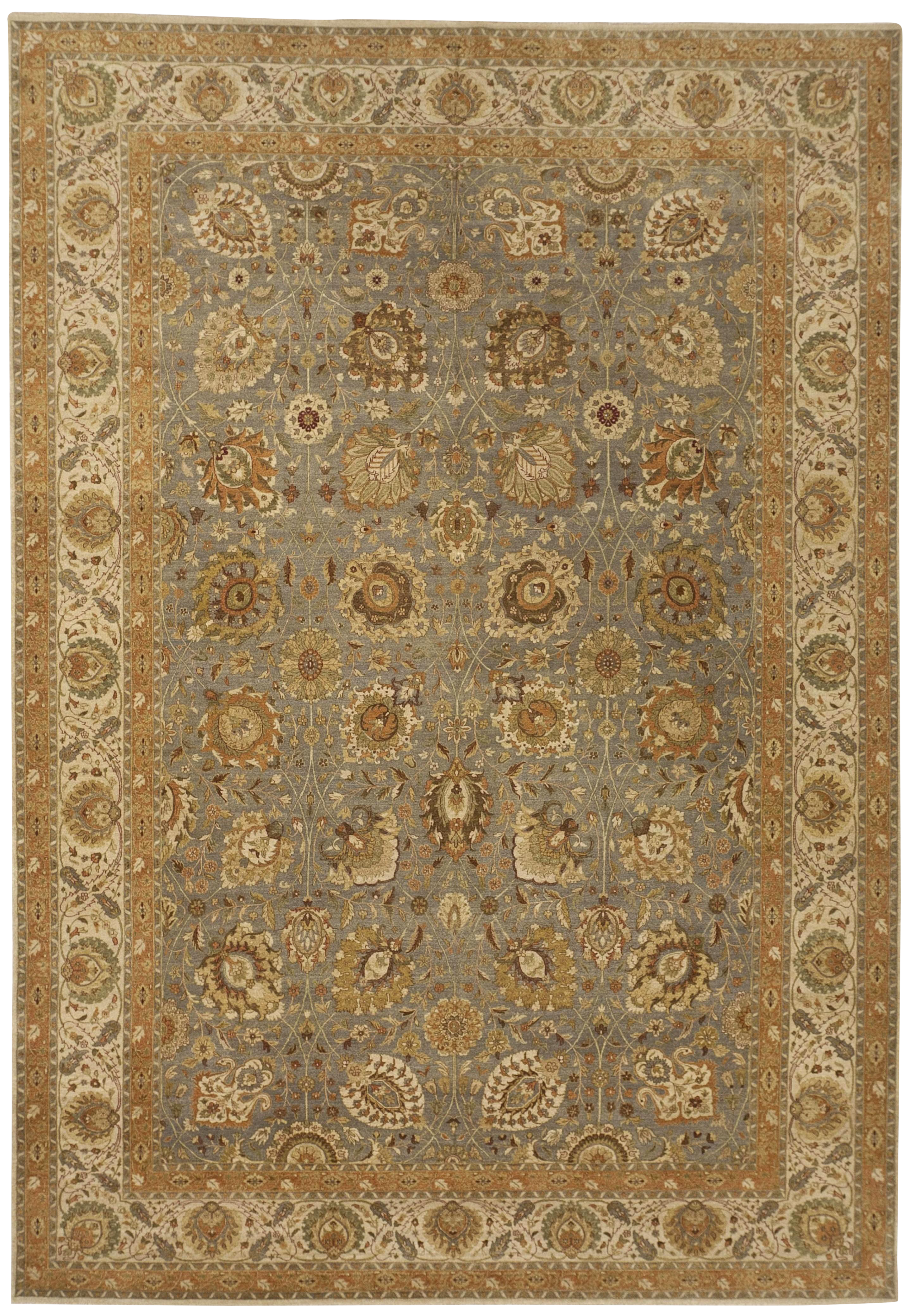 Hand Knotted Indian Rug 10 X