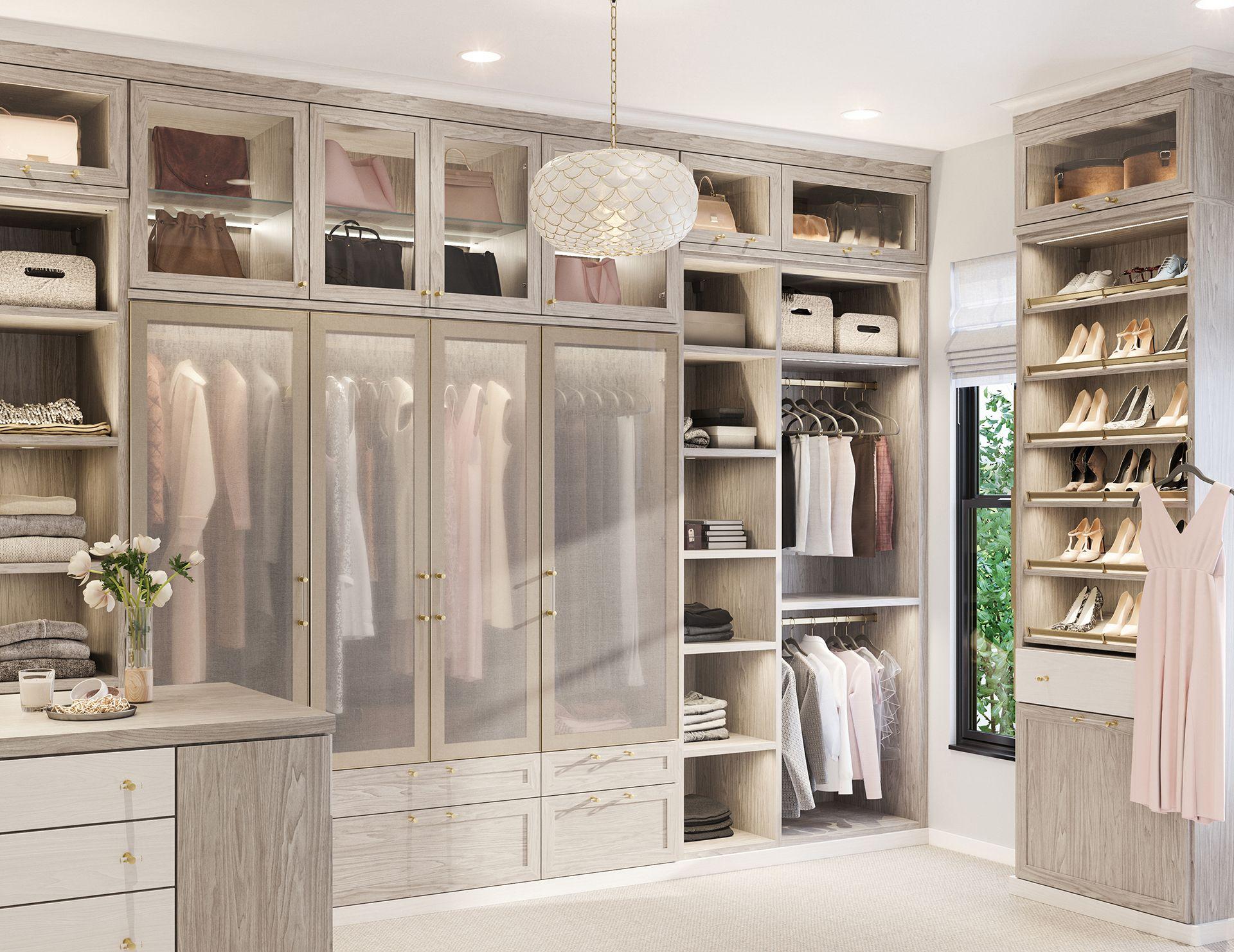 Walk In Closet Systems | Walk-In Closet Design Ideas ...
