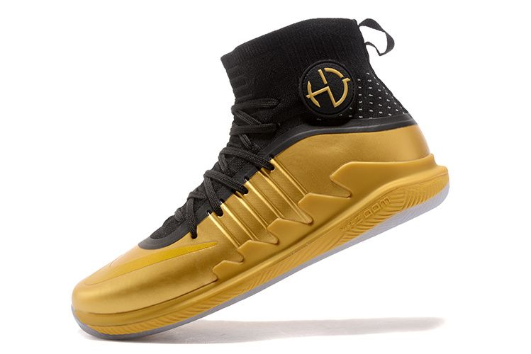 timeless design b8f75 be07a Nike Hyperdunk 2017 2018 Draymond Green Championship Gold Black
