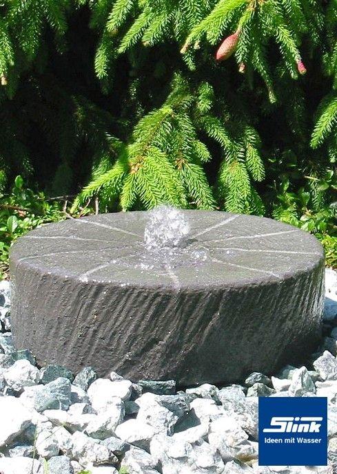 Gartenbrunnen Juist Mühlstein gästetoilette mesch Pinterest - garten brunnen stein ideen