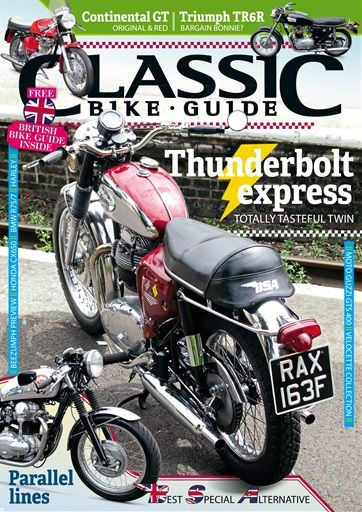 Classic Bike Guide Magazine Subscription Buy At Magazine Cafe