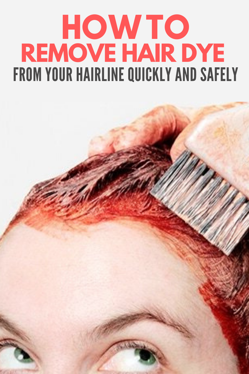 How To Remove Hair Dye From Skin Without Rubbing Alcohol In 2020 Hair Dye Removal Dyed Hair Hair Removal