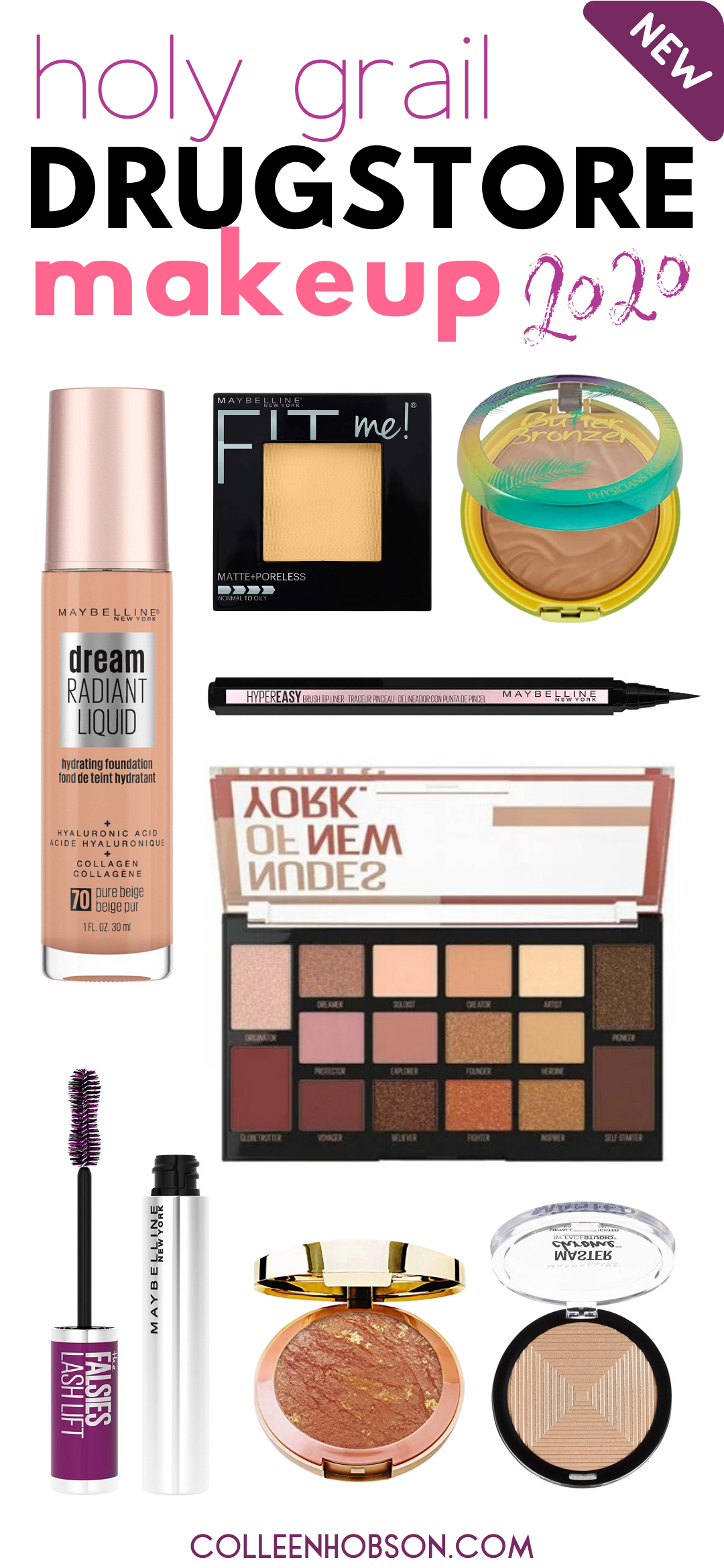 The Best Drugstore Makeup Products In 2020 In 2020 Best Drugstore Makeup Drugstore Makeup Beauty Products Drugstore