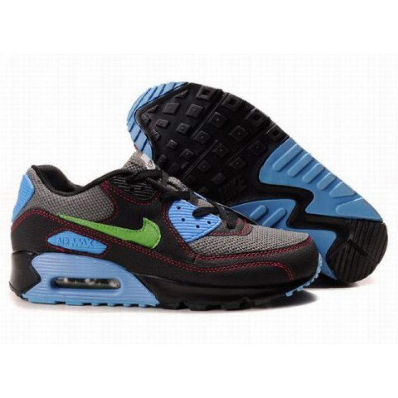Nike Air Max 90 Black Blue D05214