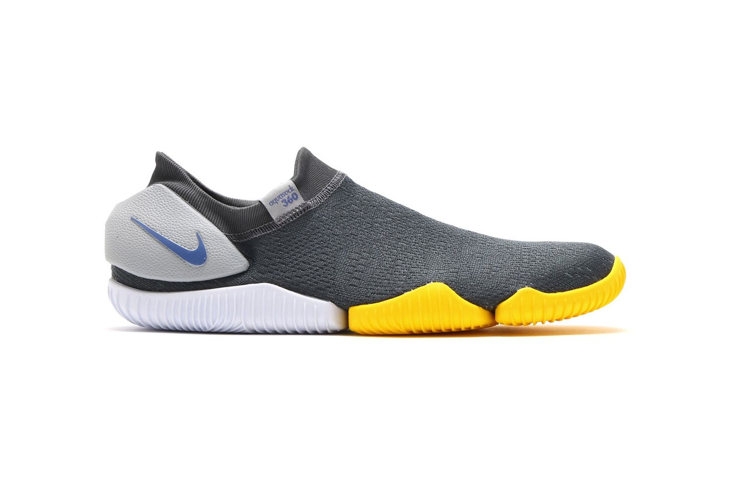 Nike Aqua Sock 360 Total Crimson Wolf Grey Tour Yellow - 3760410