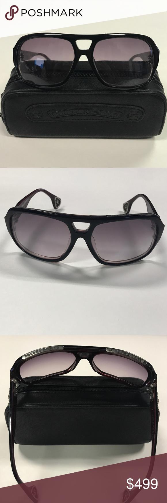 b4f75f53016 Chrome Hearts Boink Sunglasses Unisex Black Red Unisex. Originally  1650. Chrome  Hearts Boink